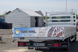 Nik Mil Legnica - samochód służbowy